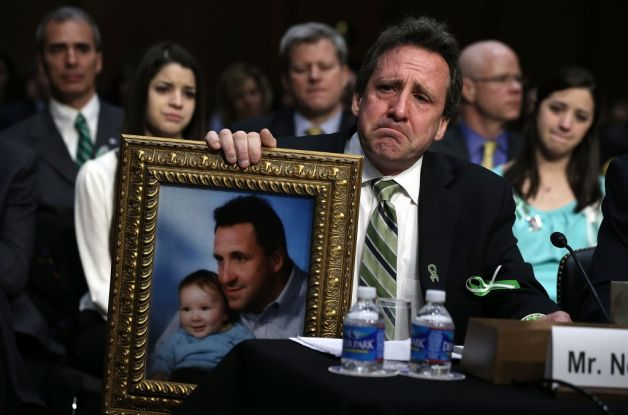 The tears of Sandy Hook fathers are mixing with the fierce determination of Sandy Hook mothers to create a tribe of new social justice change agents: activist parents. Photo: Hartford Courant.