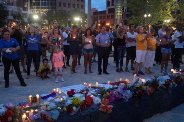 Memorial for the Orlando Pulse shooting